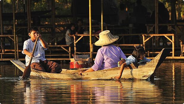 Floating Market, Ayutthaya