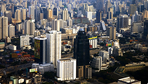 Sathorn District in Bangkok