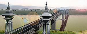 Nieuwe brug naar Laos in november open