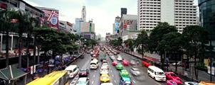 Het leven in Bangkok
