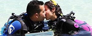 Onderwater Bruiloften in Trang