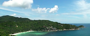Zee en stranden bij Koh Tao