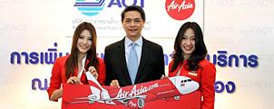 AirAsia per 1 oktober naar Don Mueang