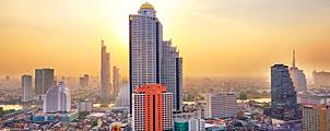 Bangkok 29e duurste stad in Azië