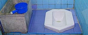 Einde van het hurk-toilet in Thailand?