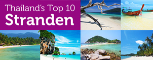 Top 10 beste stranden in Thailand