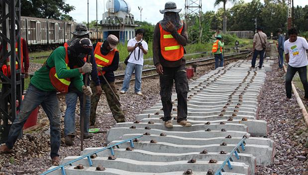 Spoorweg naar Chiang Mai maand langer gesloten