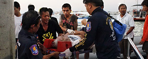 6 mensen omgekomen na gekapseisde veerboot bij Pattaya