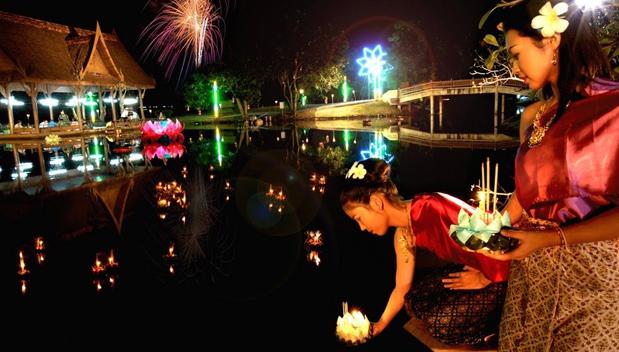 Loy Krathong 2013 in Thailand