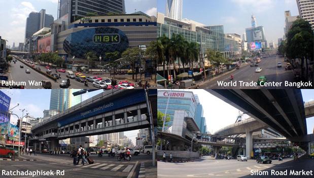 Belangrijke kruispunten in Bangkok weer geopend