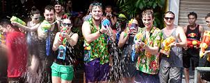 Waar Songkran vieren in Bangkok