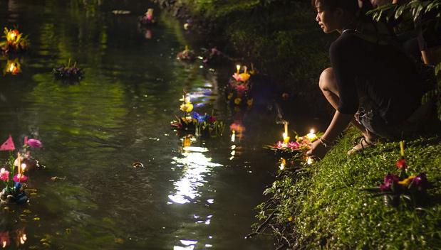 Waar Loy Krathong vieren in Bangkok