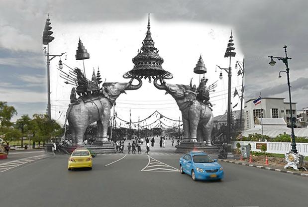 Thailand toen en nu