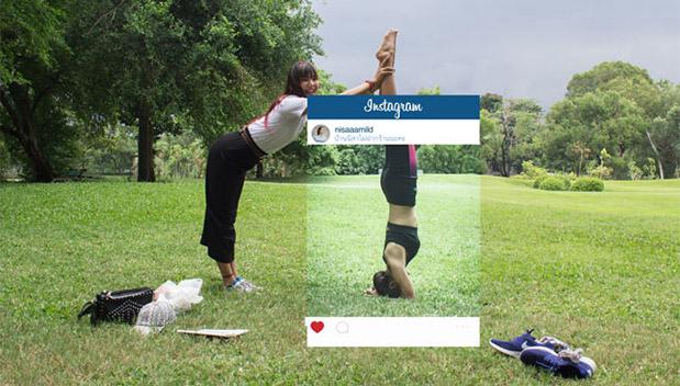 Thaise fotograaf laat zien dat Instagram foto's niet altijd de waarheid tonen